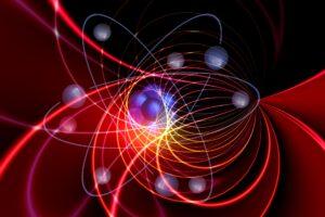молекула, фотон